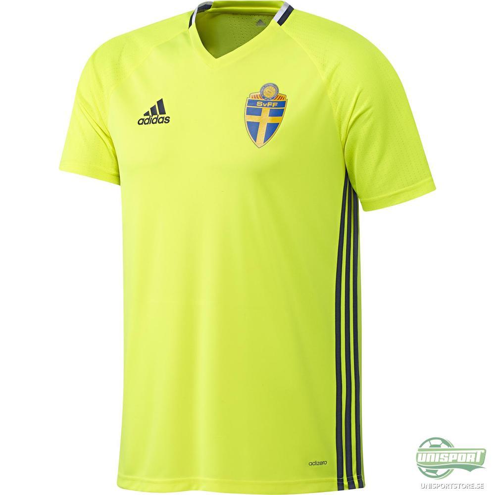Sverige Träningströja Gul/Navy