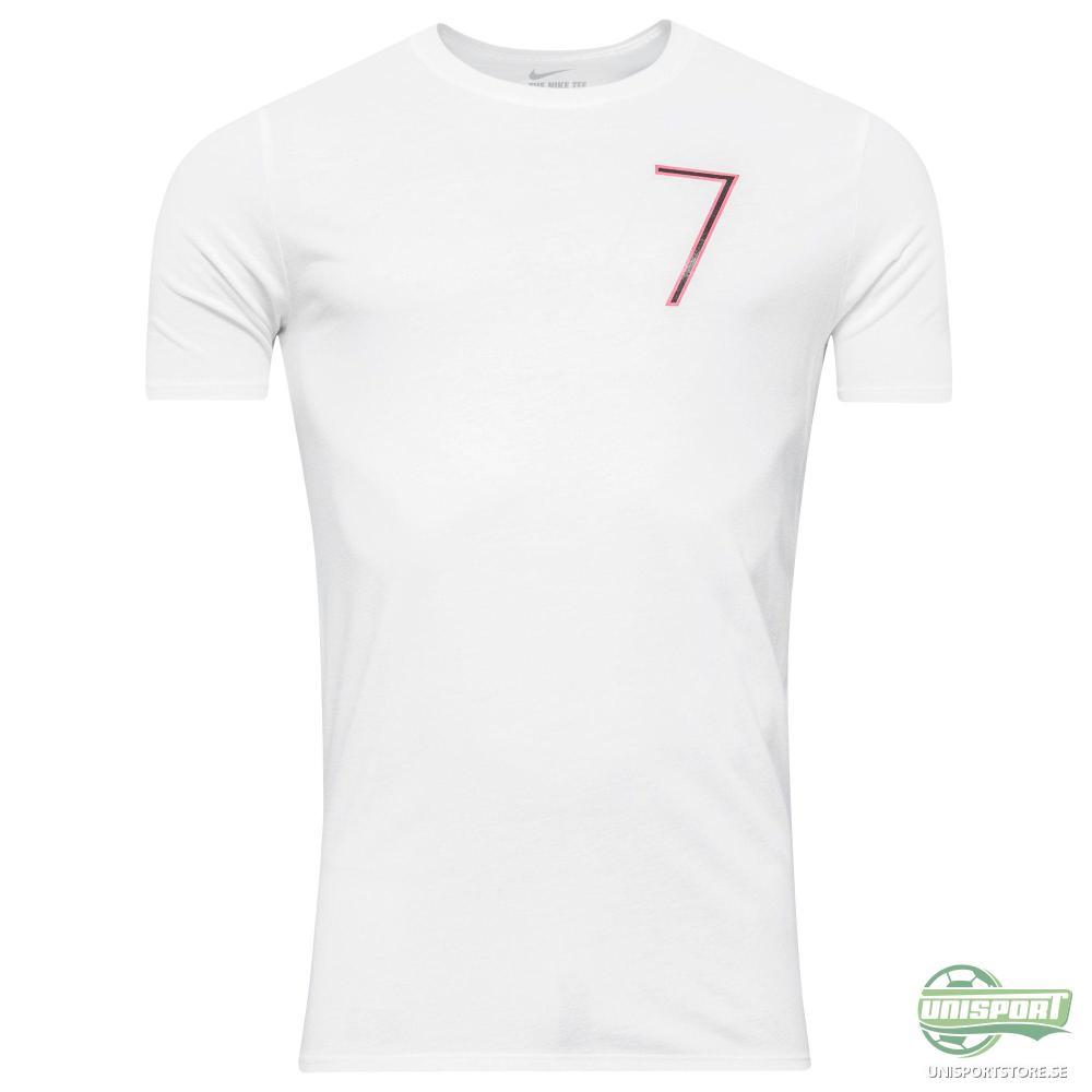 Nike T-Shirt CR7 Logo Vit