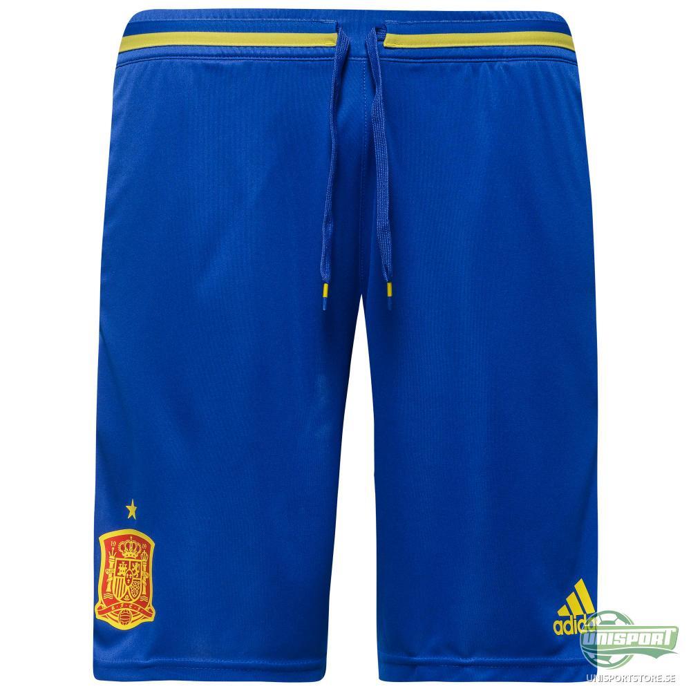 Spanien Träningsshorts Blå/Gul