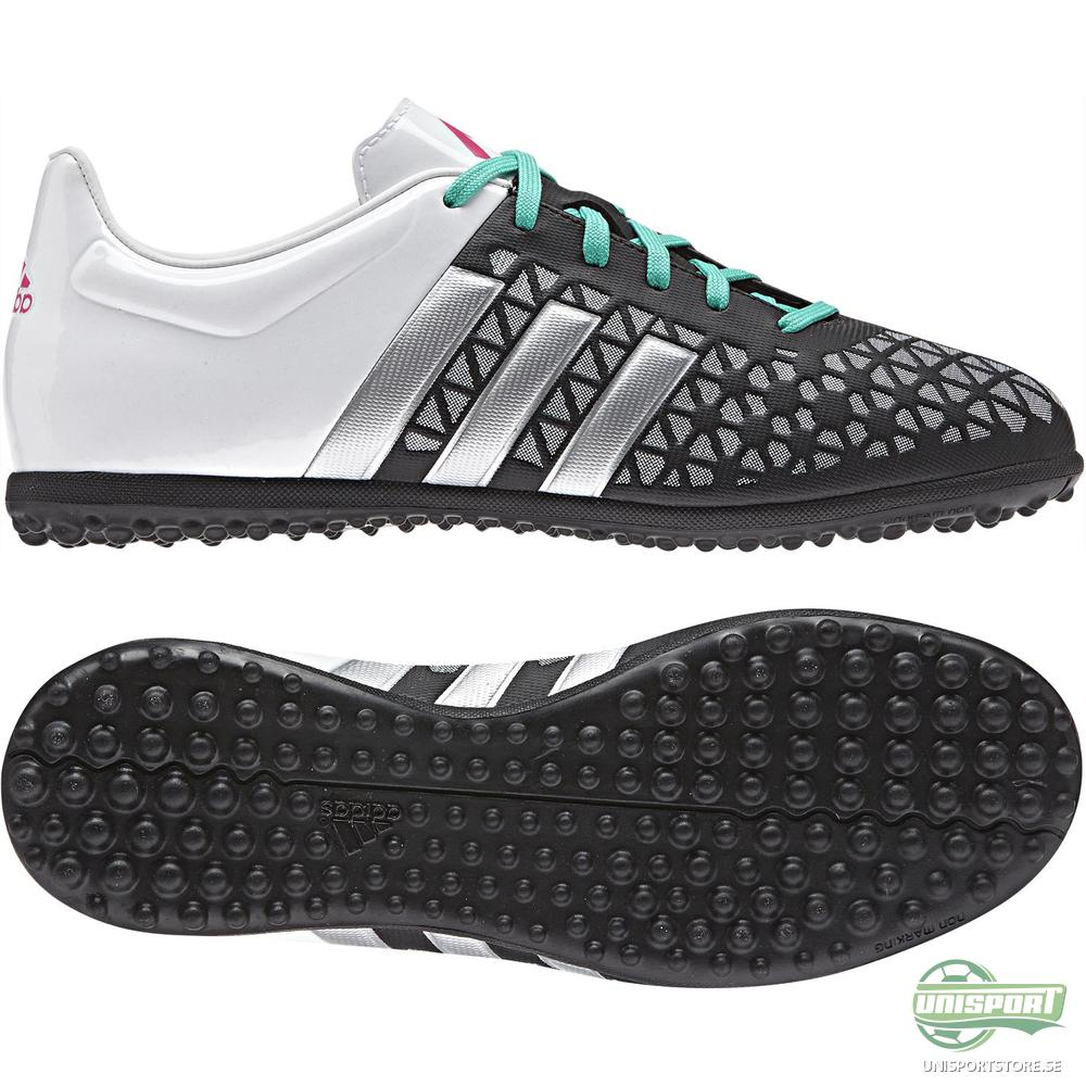 adidas Ace 15.3 TF Svart/Silver/Vit Barn