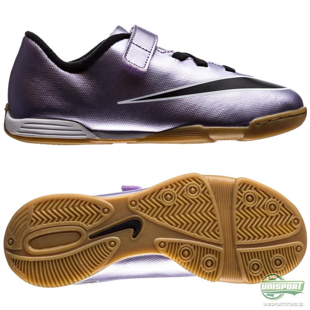 Nike Mercurial Vortex II IC Lila/Svart Barn