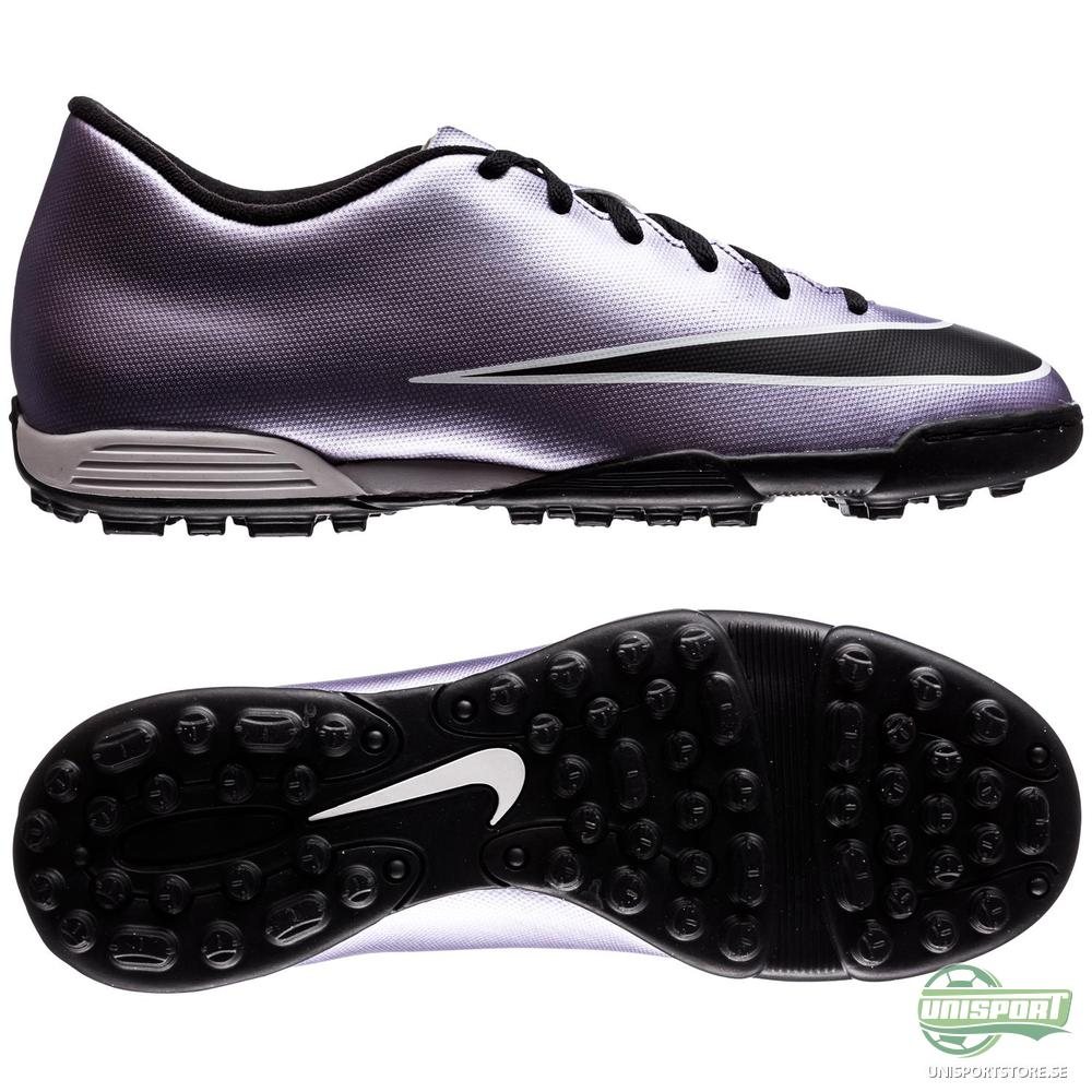Nike Mercurial Vortex II TF Lila/Svart