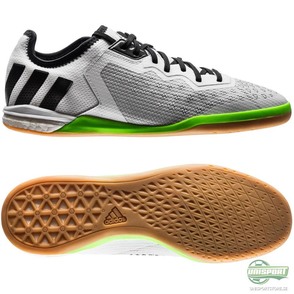 adidas Ace 16.1 Court Boost IN Vit/Grön/Rosa