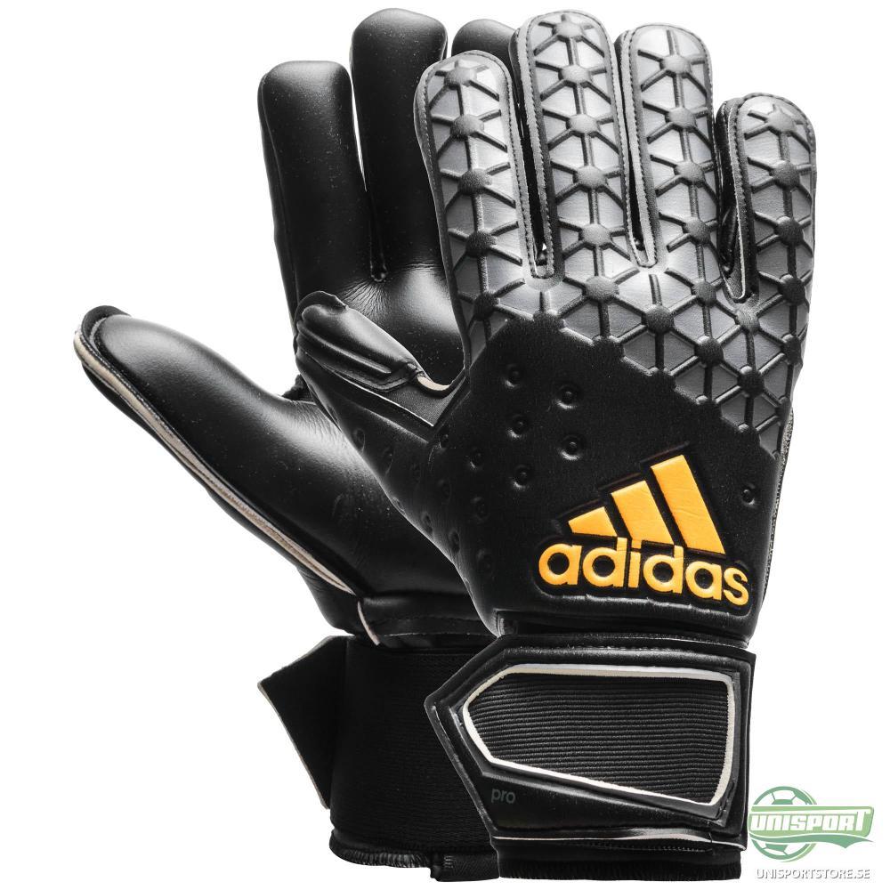 adidas Målvaktsshandske Ace Pro Classic Grå/Svart/Guld