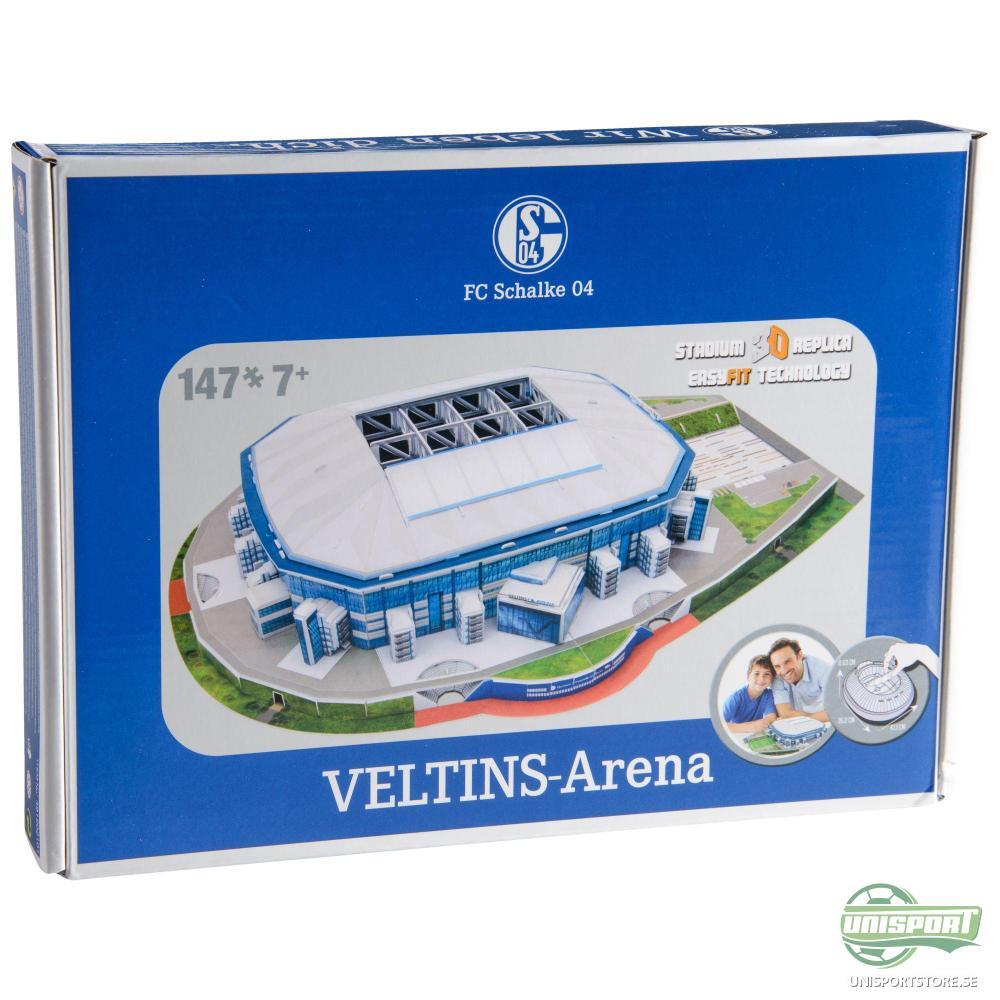 Schalke 04 3D Pusselspel Veltins Arena