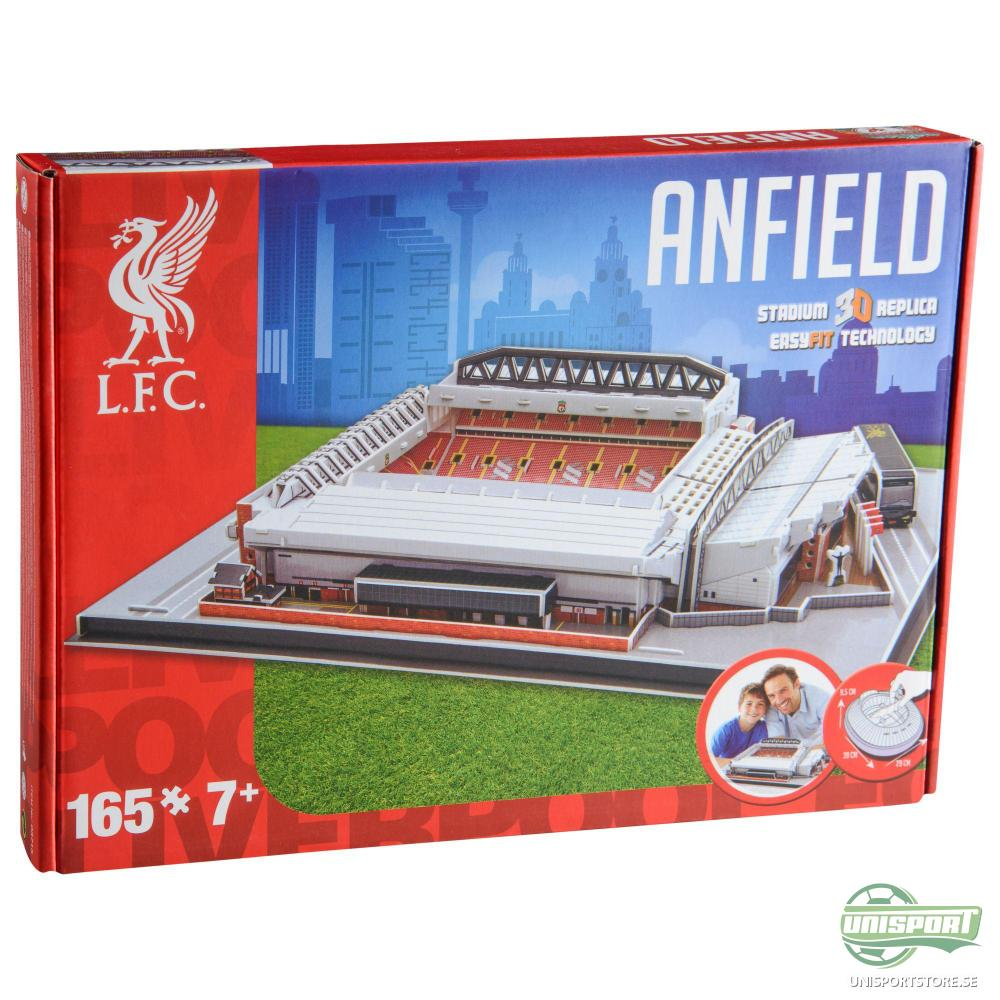 Liverpool 3D Pusselspel Anfield