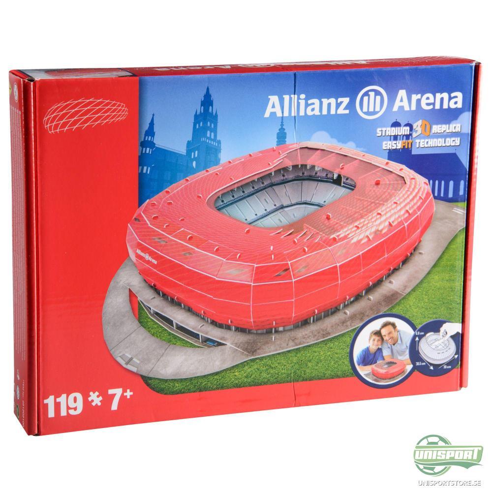 Bayern München 3D Pusselspel Allianz Arena