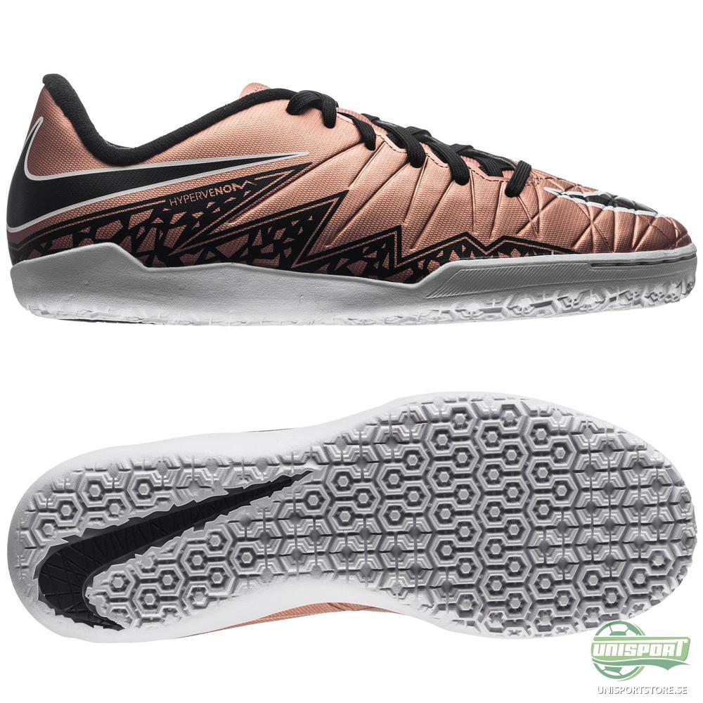 Nike Hypervenom Phelon II IC Brons/Svart/Grön Barn