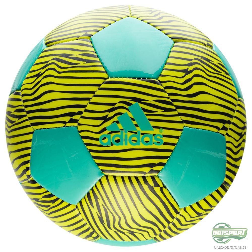 adidas Fotboll X Glider II Guld/Turkos/Svart