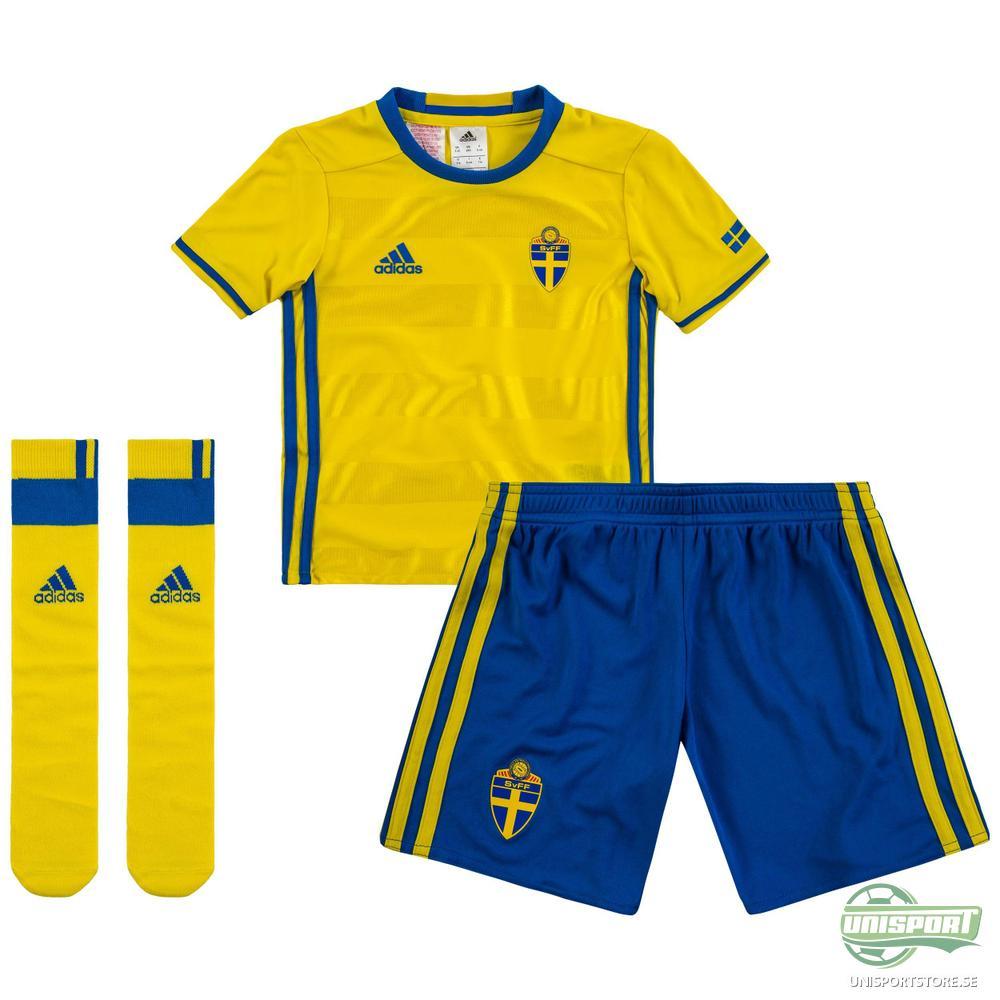 Sverige Hemmaställ Mini-Kit 2016/17 Barn