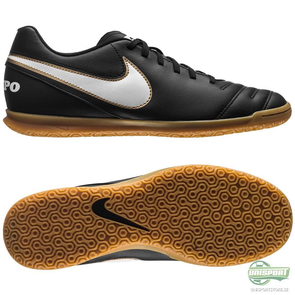 Nike Tiempo Rio III IC Svart/Vit/Guld