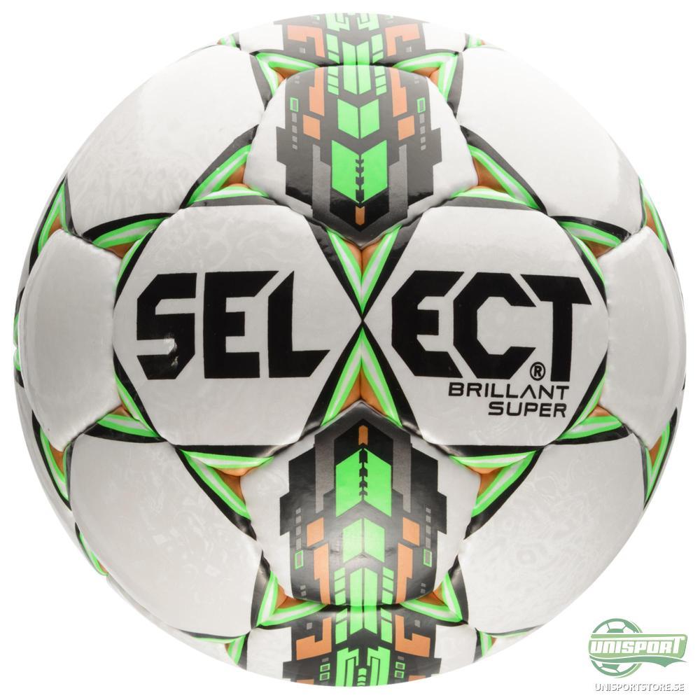 Select Fotboll Brillant Super Vit/Grön