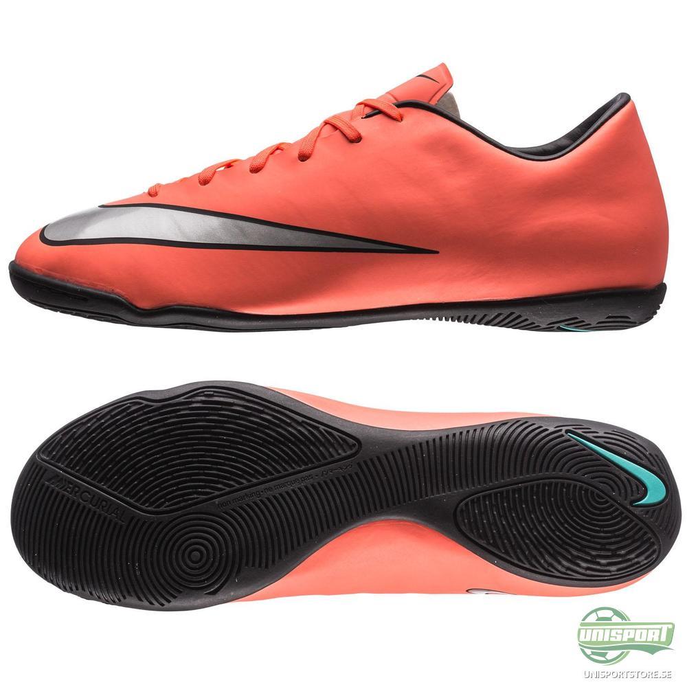 Nike Mercurial Victory V IC Orange/Silver/Svart