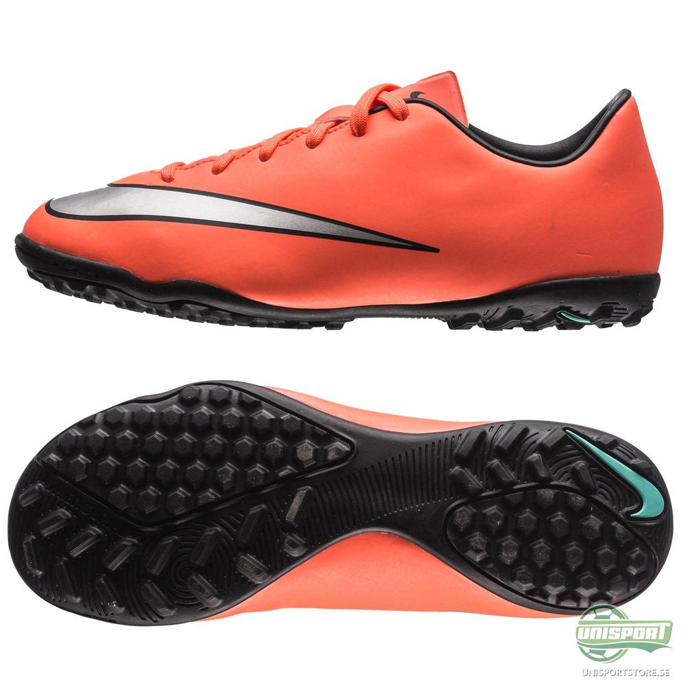 Nike Mercurial Victory V TF Orange/Silver/Svart Barn