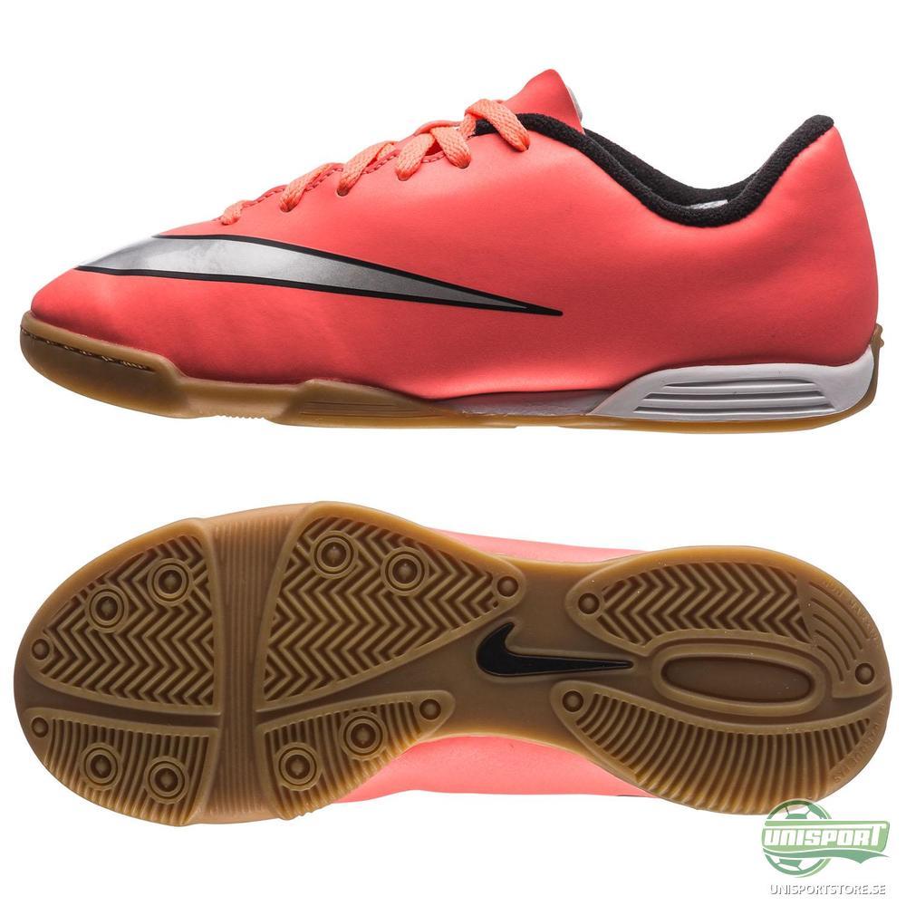 Nike Mercurial Vortex II IC Orange/Silver/Svart Barn