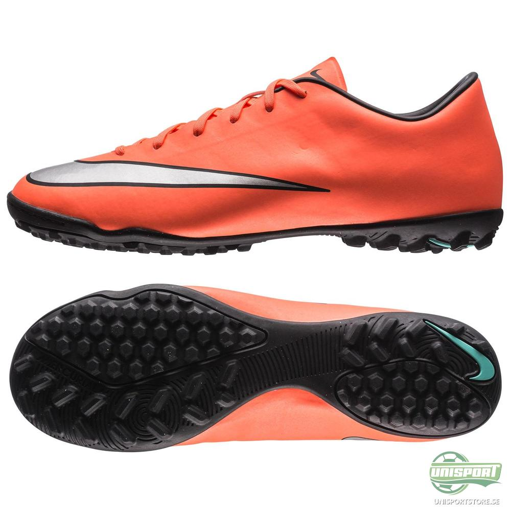 Nike Mercurial Victory V TF Orange/Silver/Svart