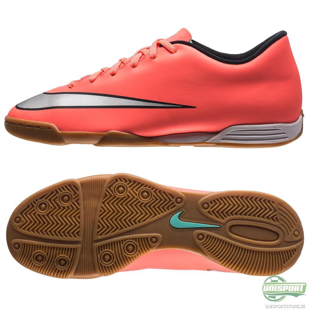 Nike Mercurial Vortex II IC Orange/Silver/Svart