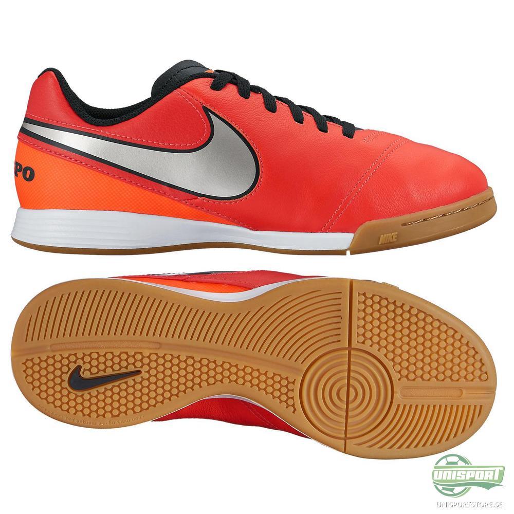 Nike Tiempo Legend 6 IC Röd/Silver Barn