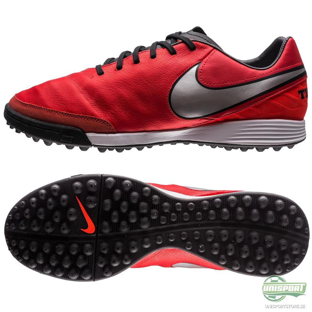Nike Tiempo Mystic V TF Röd/Silver