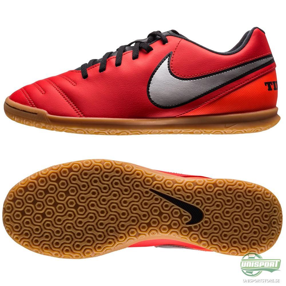 Nike Tiempo Rio III IC Röd/Silver