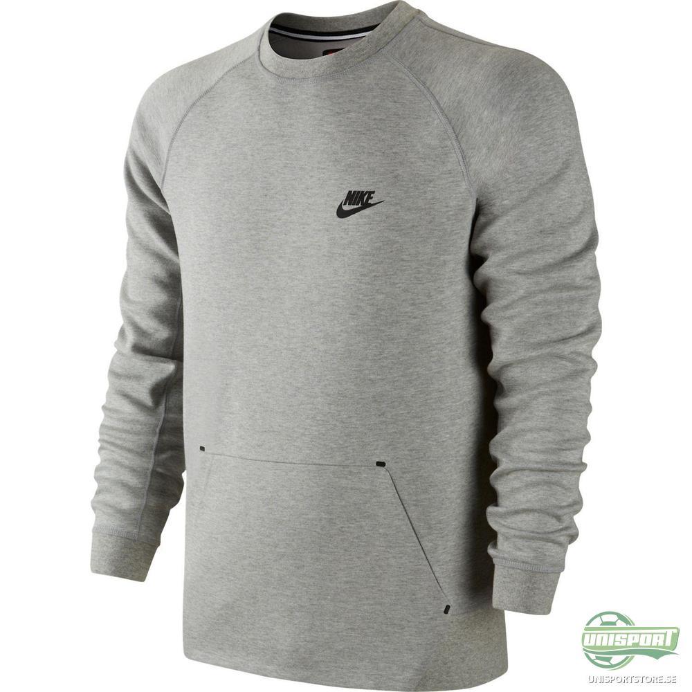 Nike Sweatshirt Tech Fleece Crew Grå