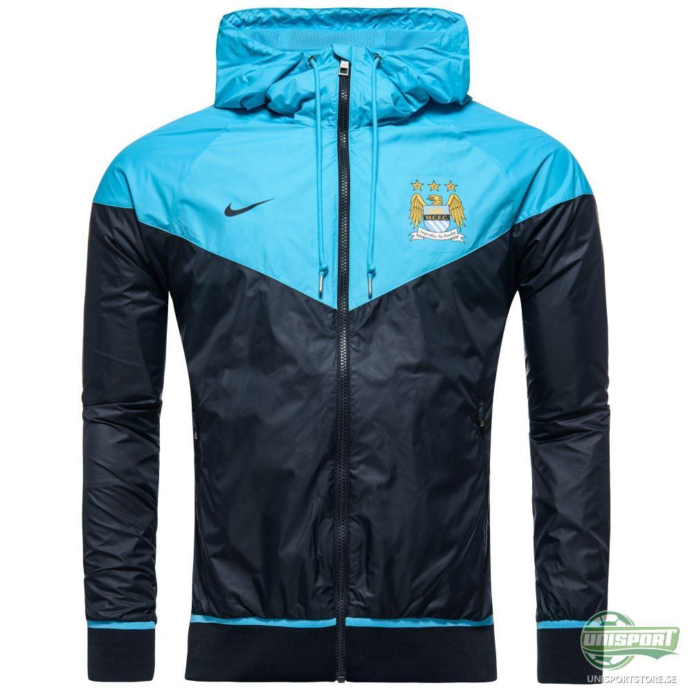 Manchester City Windrunner Authentic Navy/Blå