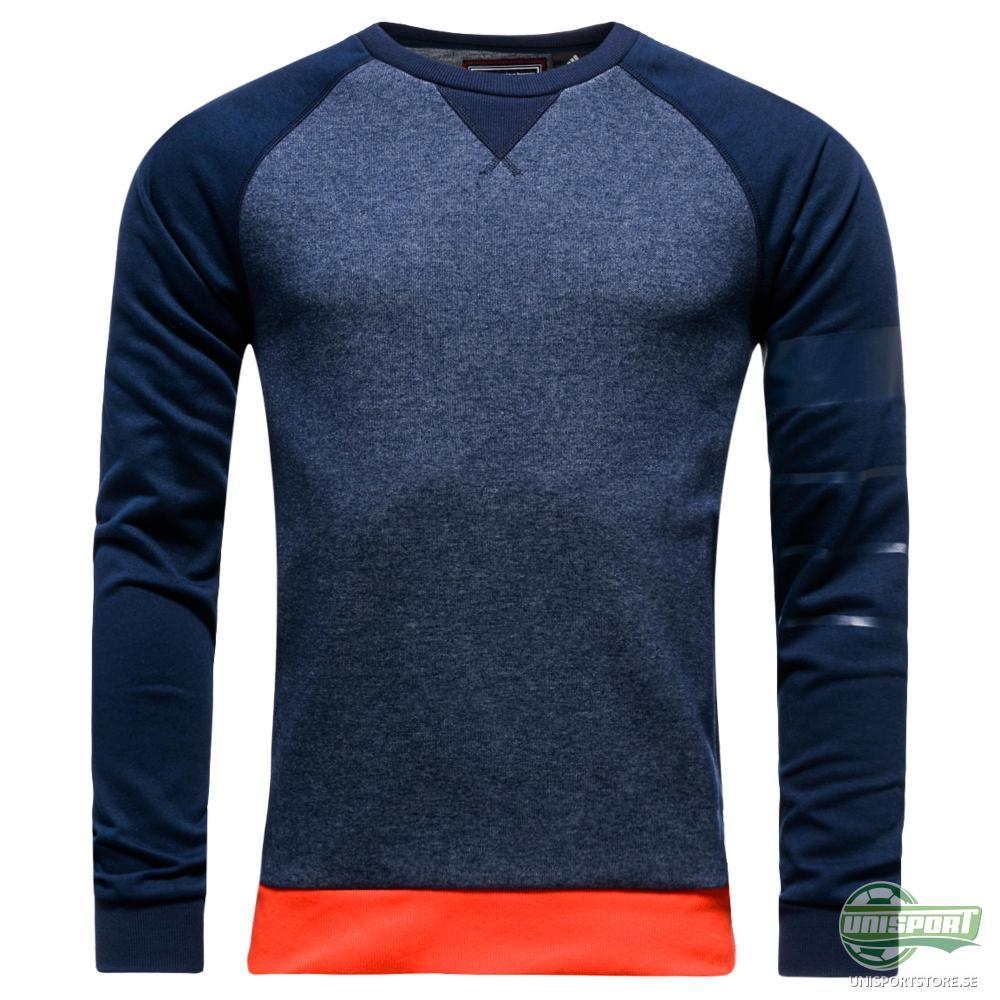 adidas Sweatshirt All Bleus Blå