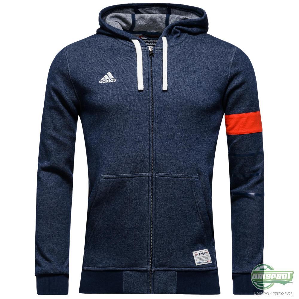 adidas Luvtröja All Bleus FZ Blå