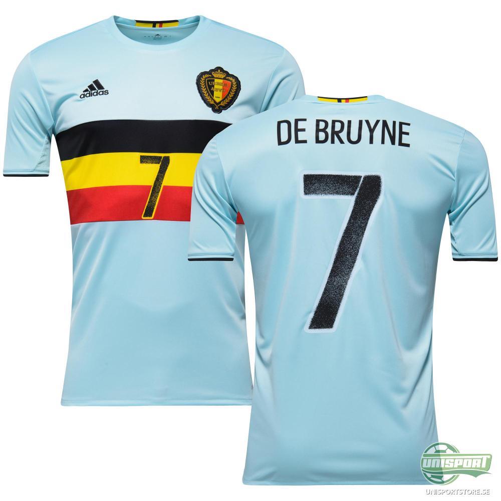Belgien Bortatröja 2016/17 DE BRUYNE 7