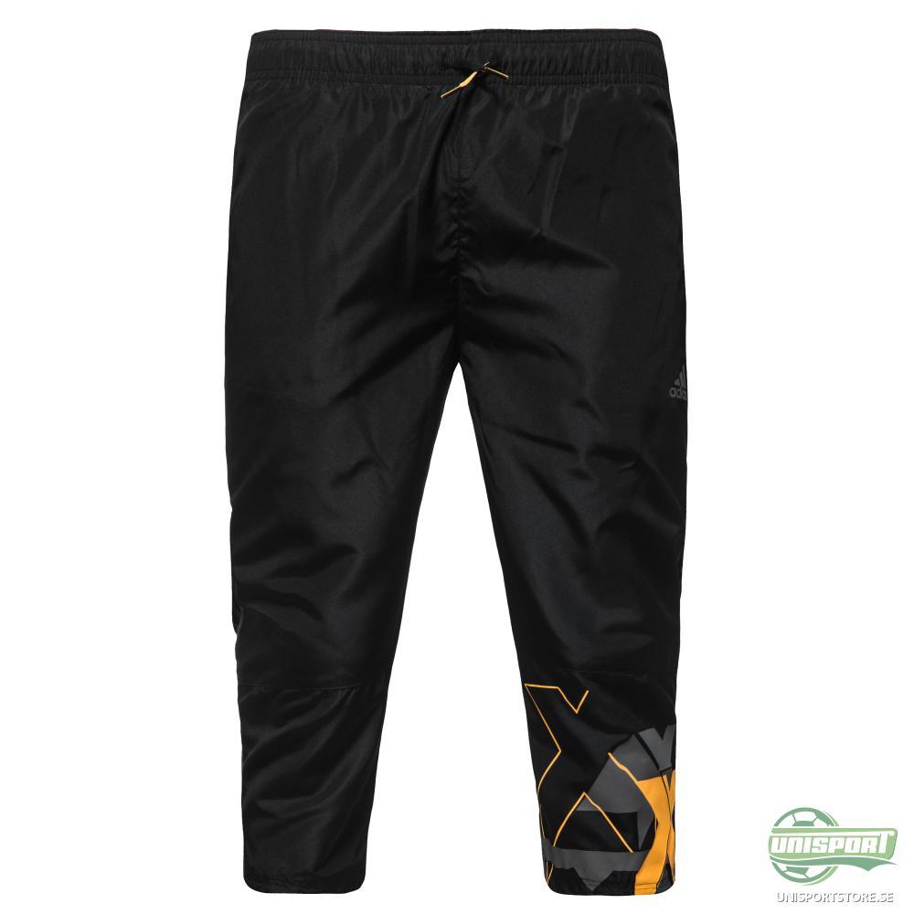 adidas Shorts 3/4 Locker Room Teammate Woven Svart/Grå Barn
