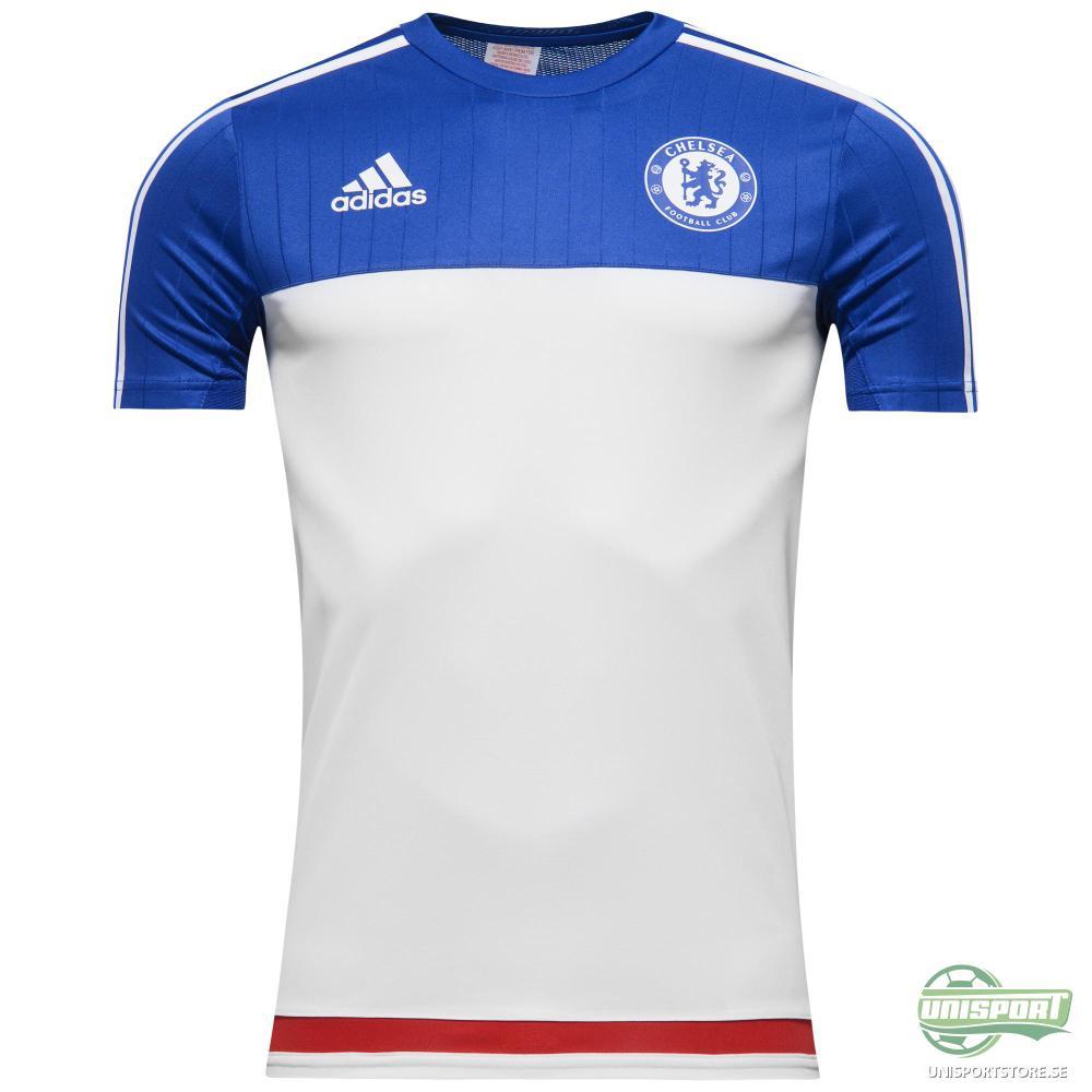 Chelsea T-Shirt Träning Vit/Blå Barn