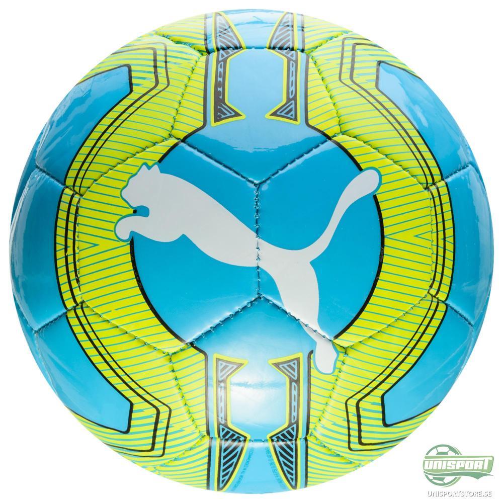 Puma Fotboll evoPOWER 6.3 Trainer MS Mini Turkos/Gul/Vit