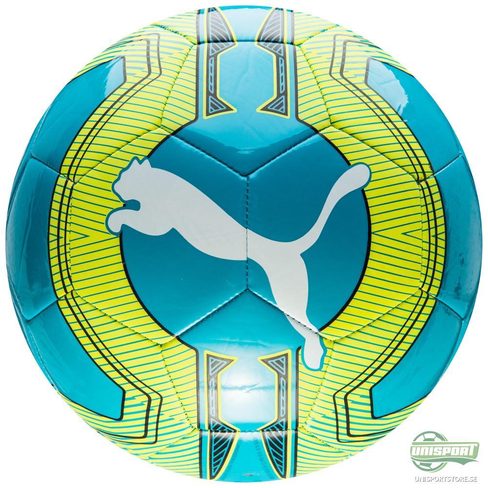 Puma Fotboll evoPOWER 6.3 Trainer MS Turkos/Gul/Vit