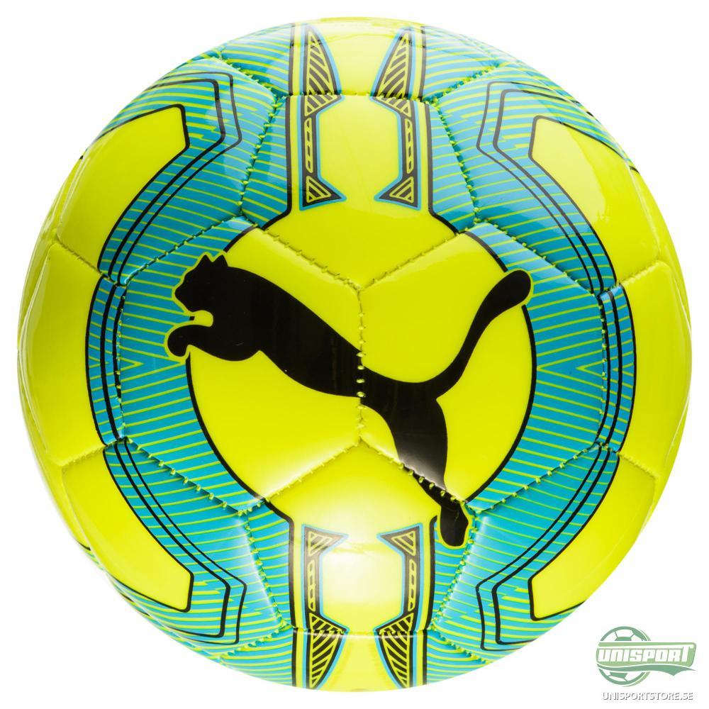 Puma Fotboll evoPOWER 6.3 Trainer MS Mini Gul/Turkos/Svart