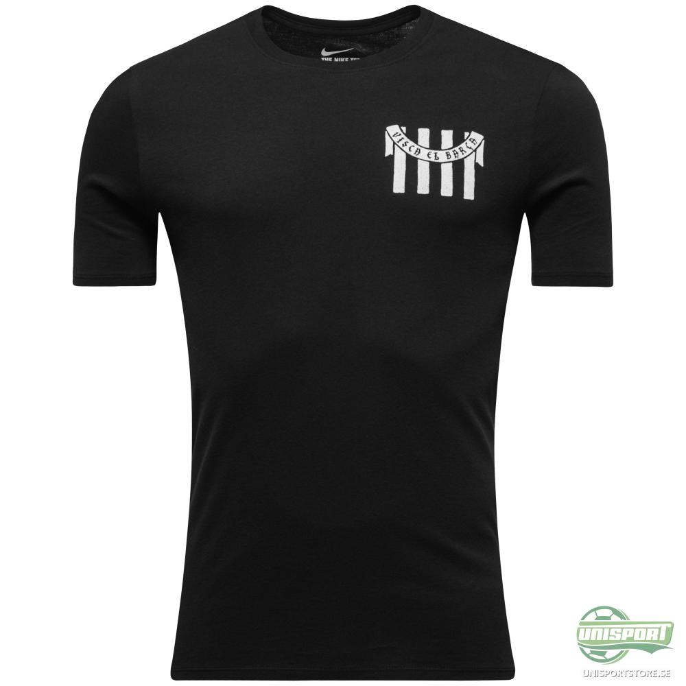 Barcelona T-Shirt 'Visca Barca' Svart/Vit