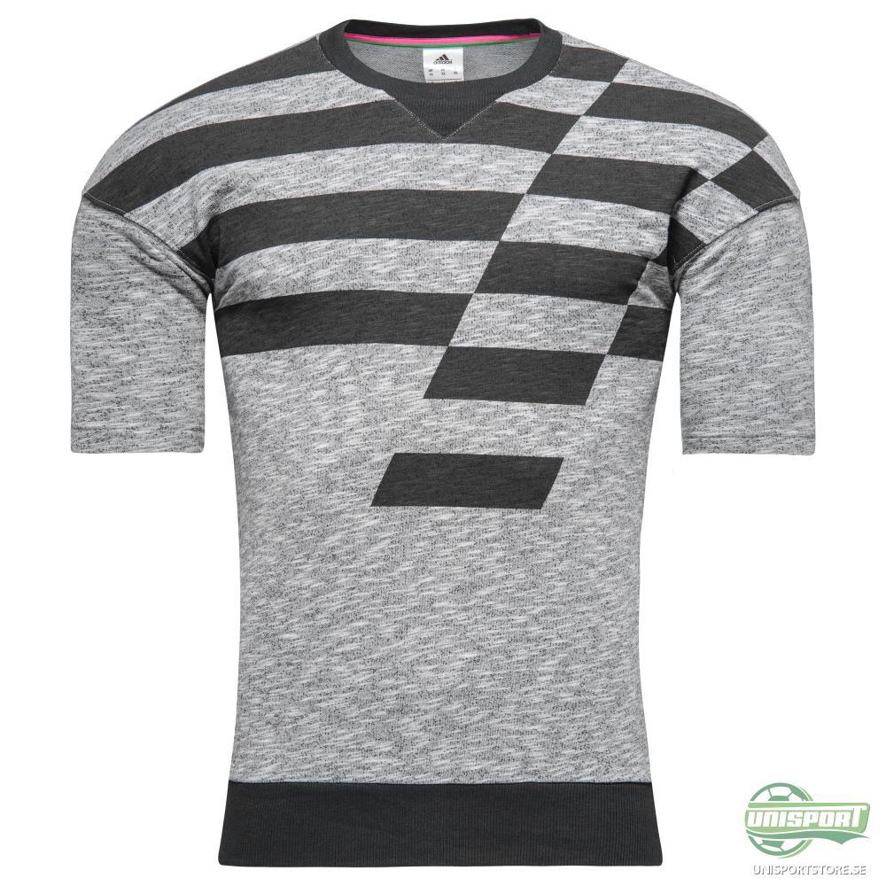 adidas Tränings T-Shirt ACE UFB SSL Grå/Svart