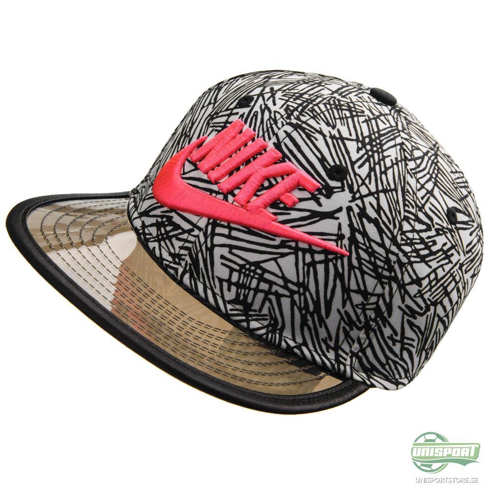 Nike Snapback Palm True Vit/Svart/Rosa Barn