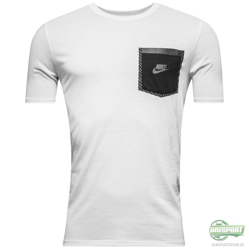 Nike T-shirt Reflective Pocket Vit/Svart