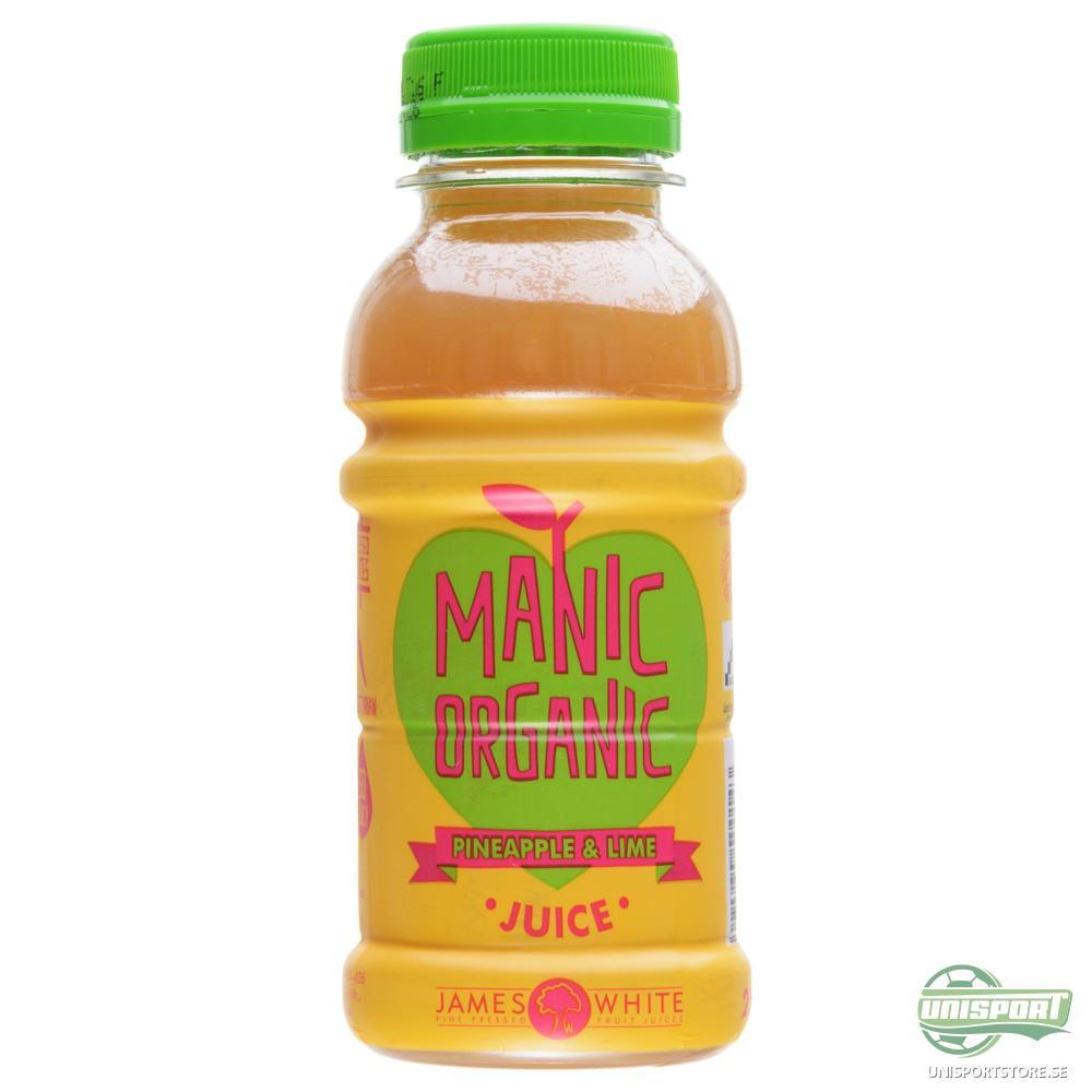 Manic Organic Juice Organic Ananas/Lime 25 cl.