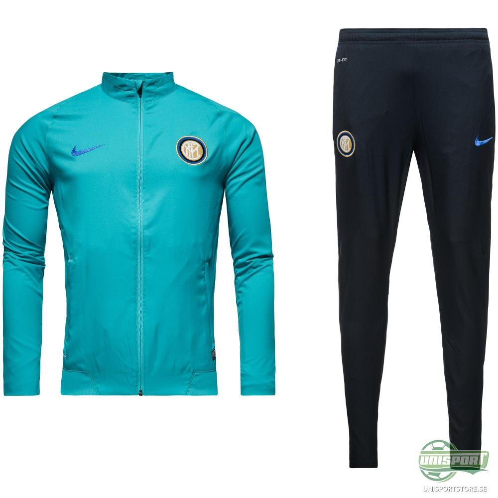 Inter Träningsoverall Revolution Sideline Woven Warm Up Turkos/Svart