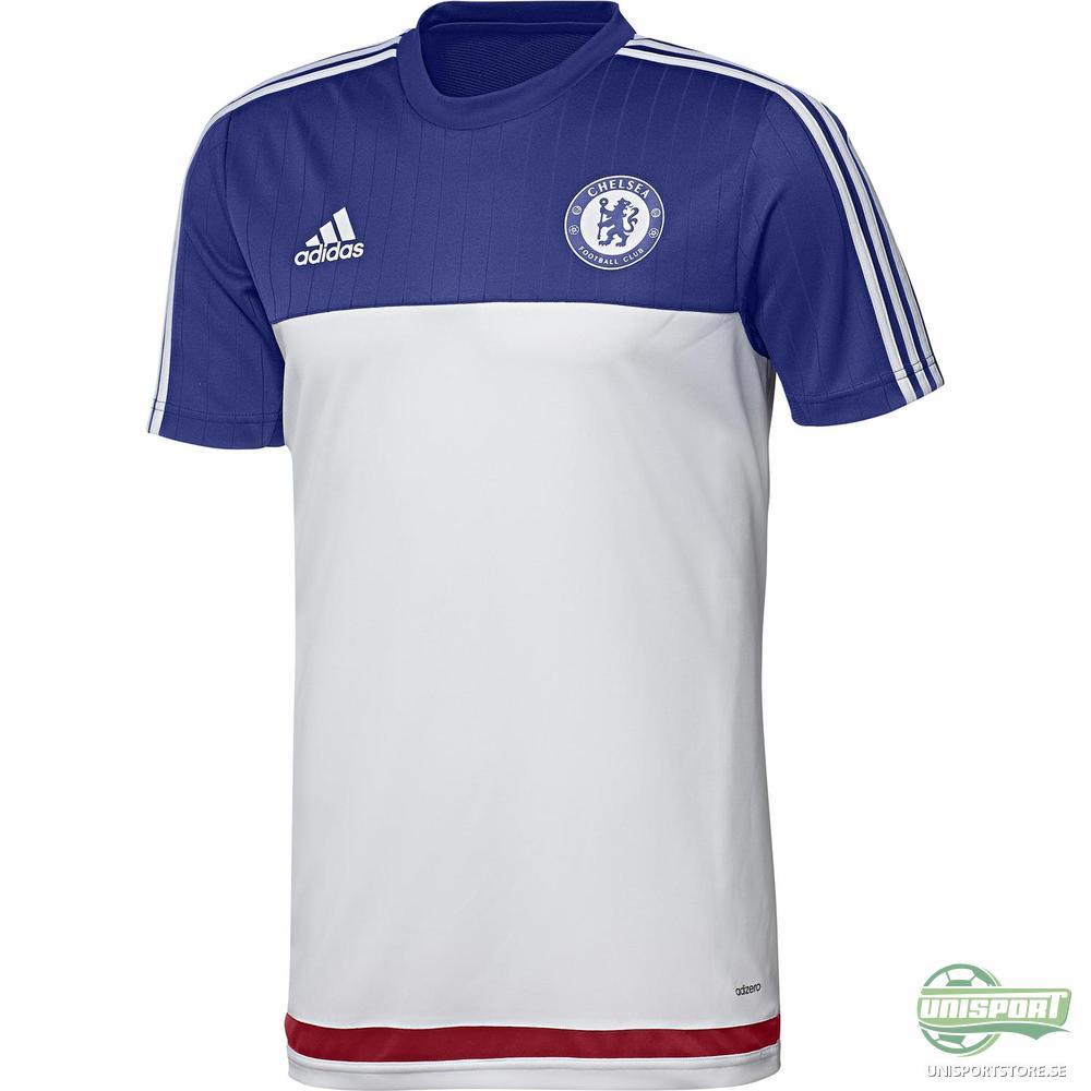 Chelsea T-Shirt Träning Vit/Blå