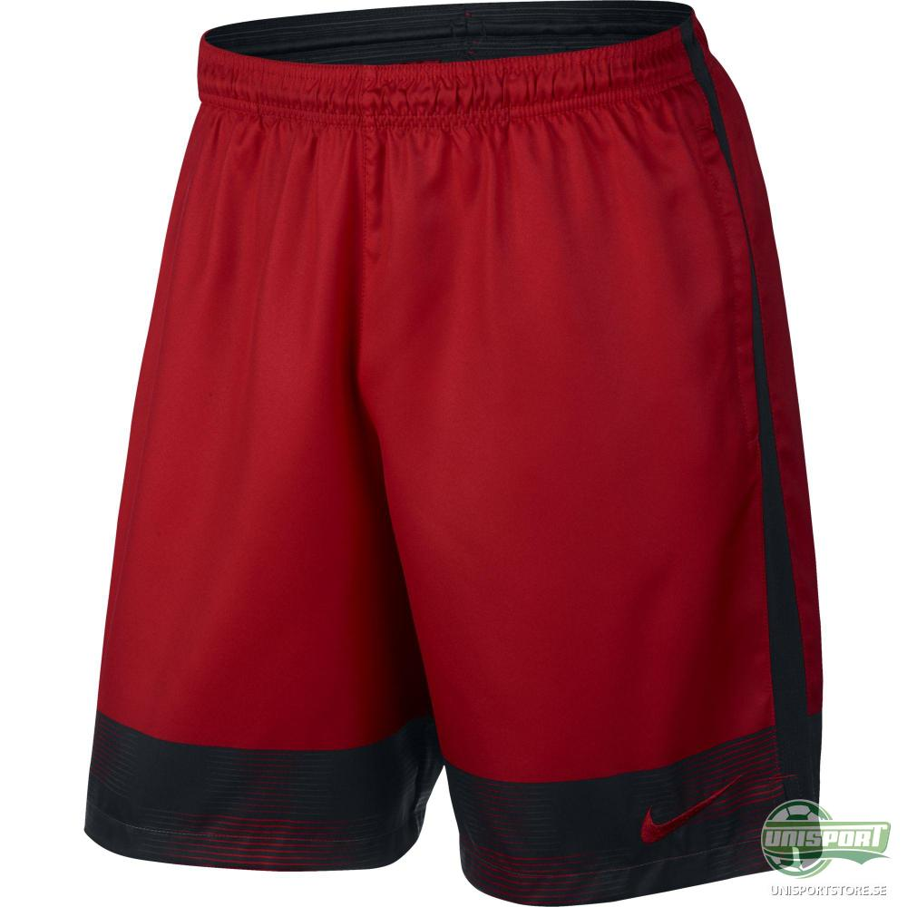 Nike Shorts Strike Printed Graphic Woven 2 Röd/Svart