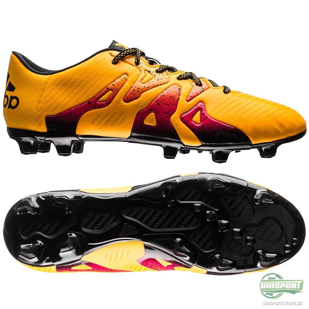 adidas X 15.3 FG/AG Gul/Rosa/Svart
