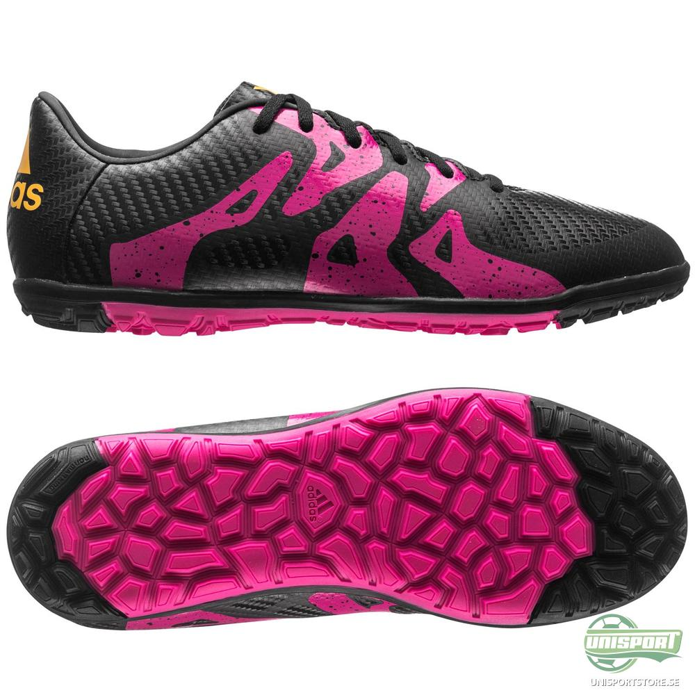 adidas X 15.3 TF Svart/Rosa/Gul Barn