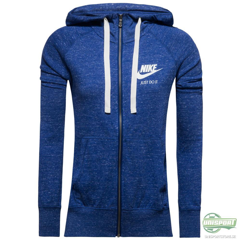 Nike Luvtröja Gym Vintage Blå Dam