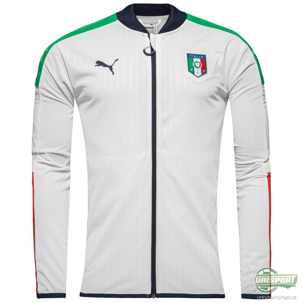 Italien Track Top Stadium Vit