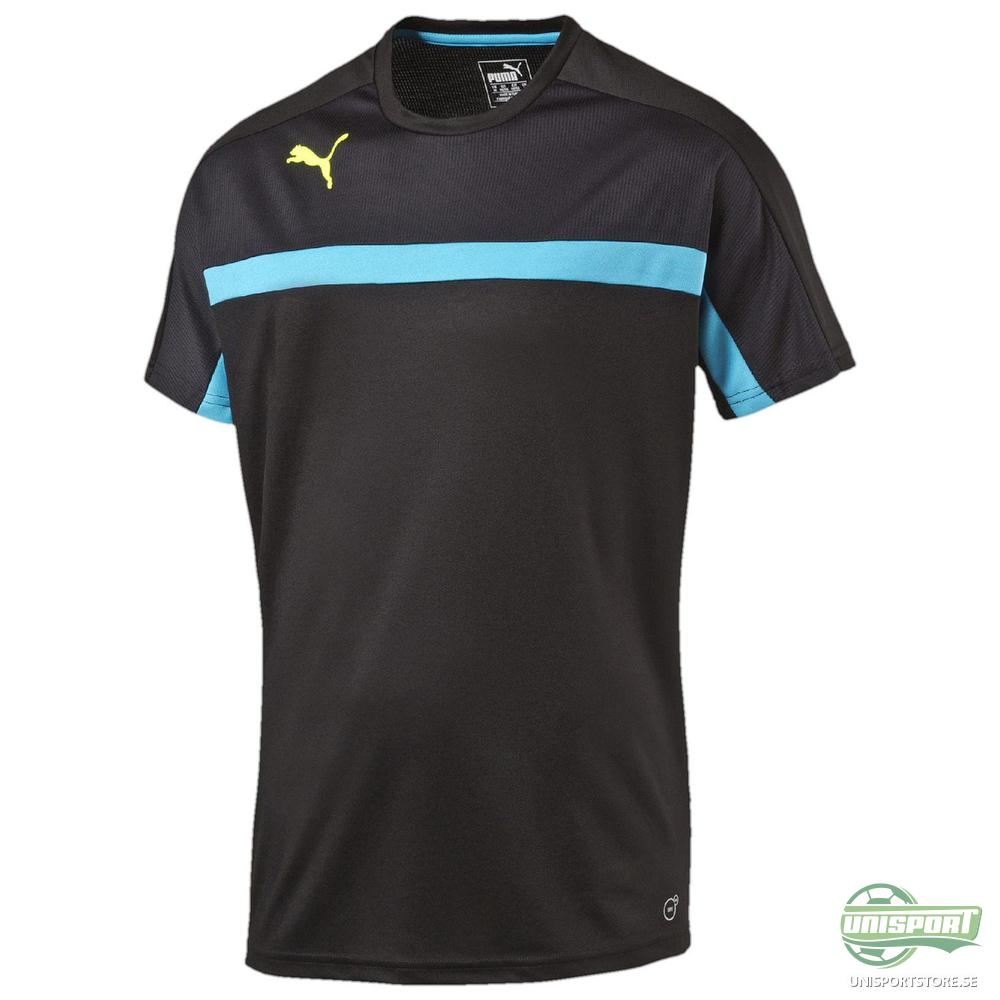 Puma Tränings T-Shirt evoTRAINING Svart/Blå Barn