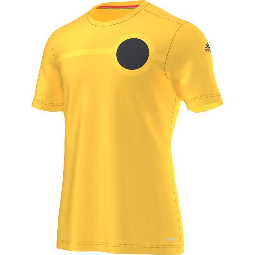 adidas Tränings T-Shirt ACE UFB Climalite Gul