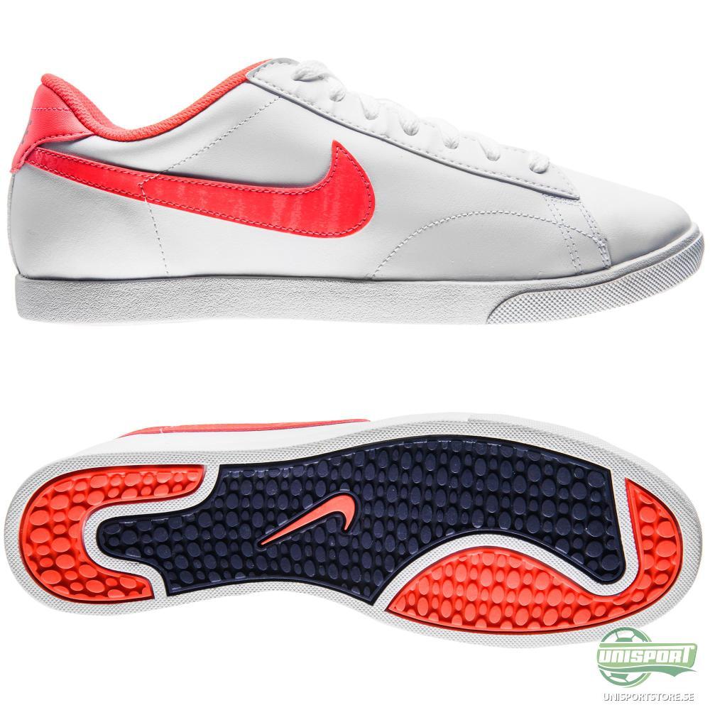 Nike Racquette Leather Vit/Orange Dam