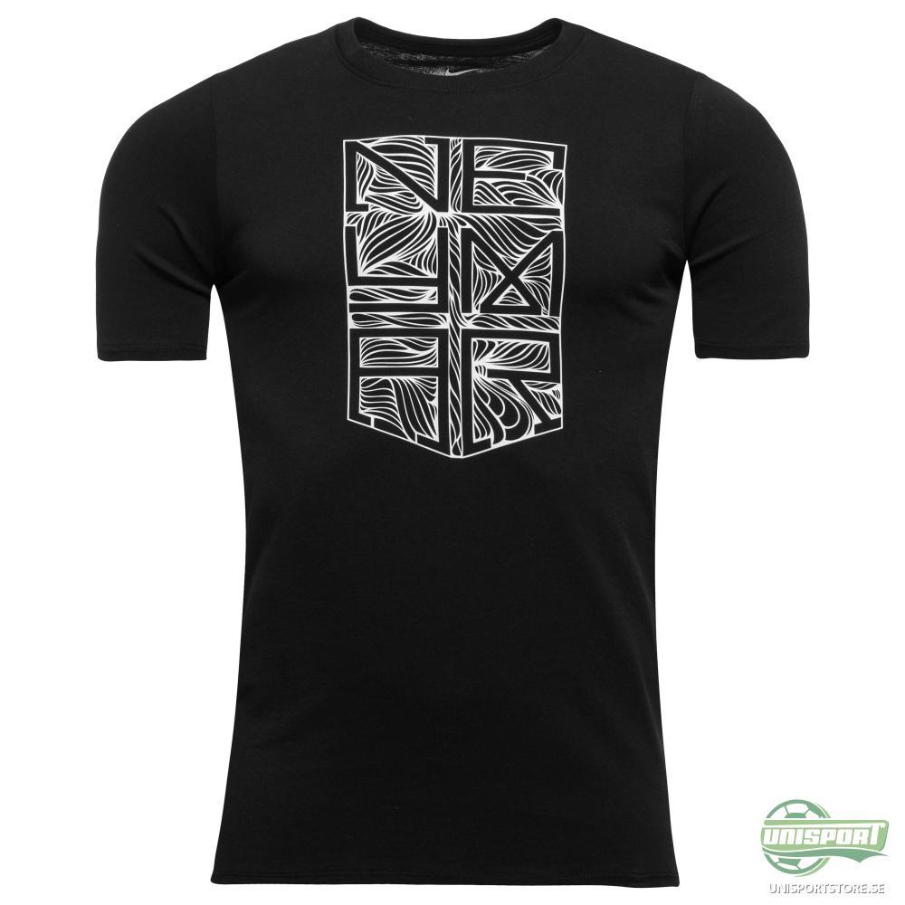 "Nike T-Shirt Neymar Jr ""Ousadia e Alegria"" Logo Svart Barn"